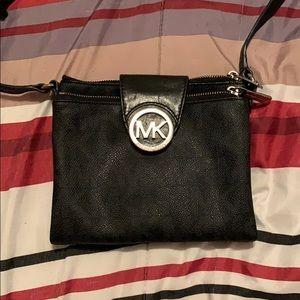 Black Micheal kors cross body bag